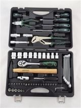 "Tools set 59 pcs.1/4"", 1/2"""