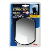 Vision plus, adjustable adhesive blind spot mirror 140х100mm