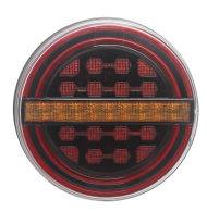 REAR LAMP LED DYNAMIC INDICATOR 12/24V